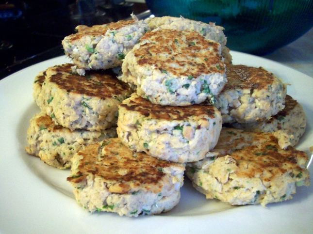 Salmon Patty Cakes