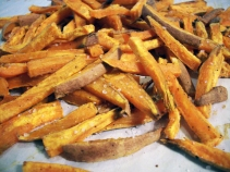 Seasoned Sweet Potato Fries