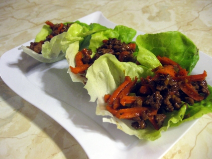 Chinese Pork Lettuce Wraps