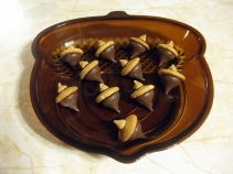 Simple Chocolate Acorns